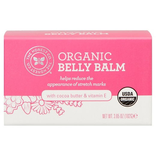 The Honest organic belly balm
