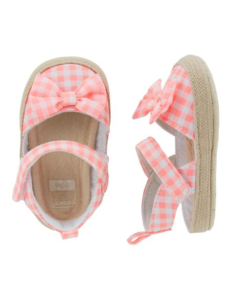 Carter's Espadrille Sandal Crib Shoes