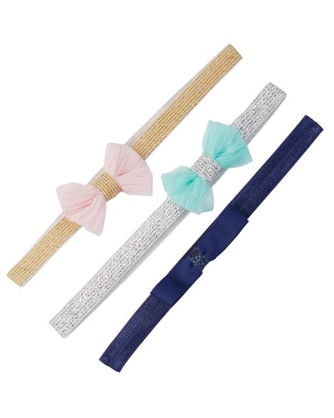 Carter's 3-Pack Bow Headbands