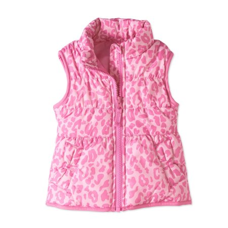 Child of Mine by Carter's Girl Bubble Vest Pink