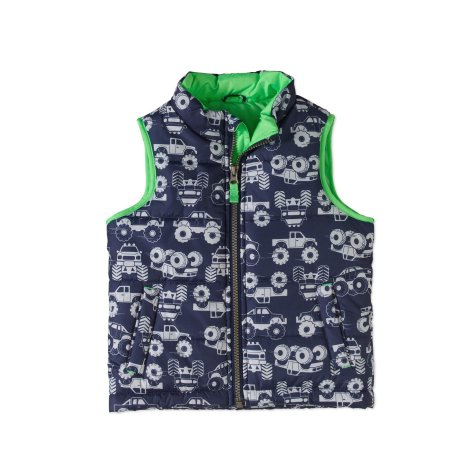 Child of Mine by Carter's Baby Toddler Boy Bubble Vest Green
