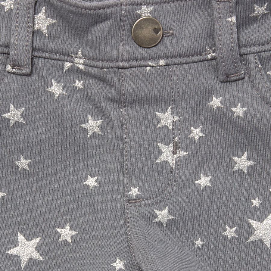 cd1abb3655978 The Children's Place Toddler Girls Sparkle Printed Knit Jeggings Grey