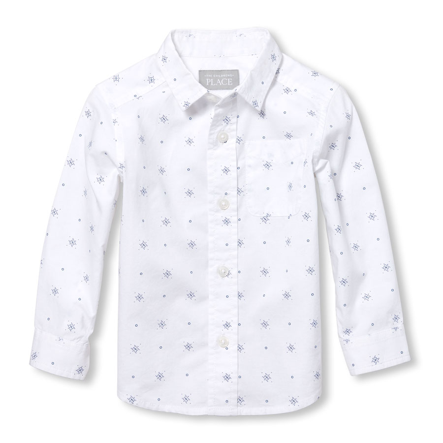 5f088155 Toddler Long Sleeve Button Down Shirts - DREAMWORKS