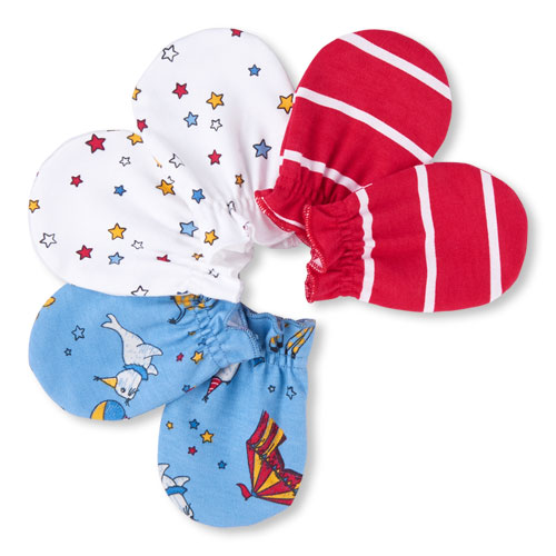 TCP Baby Boys Circus Party Mittens 3-Pack 0-6m. The Children s Place ... 48544e96e9bf