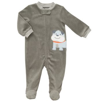 Carter's 1-piece Dog Zip-Up Terry Sleep & Play