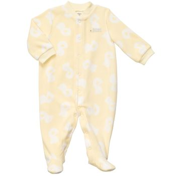 Carter's 1 piece Fleece Yellow Boys Pj 3m