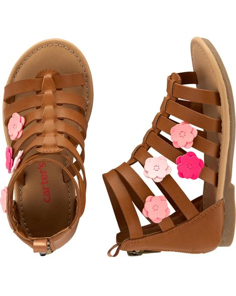 Carter's Girls Gladiator Sandals