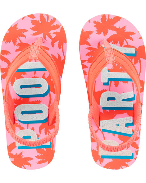 OshKosh Pool Party Flip Flops